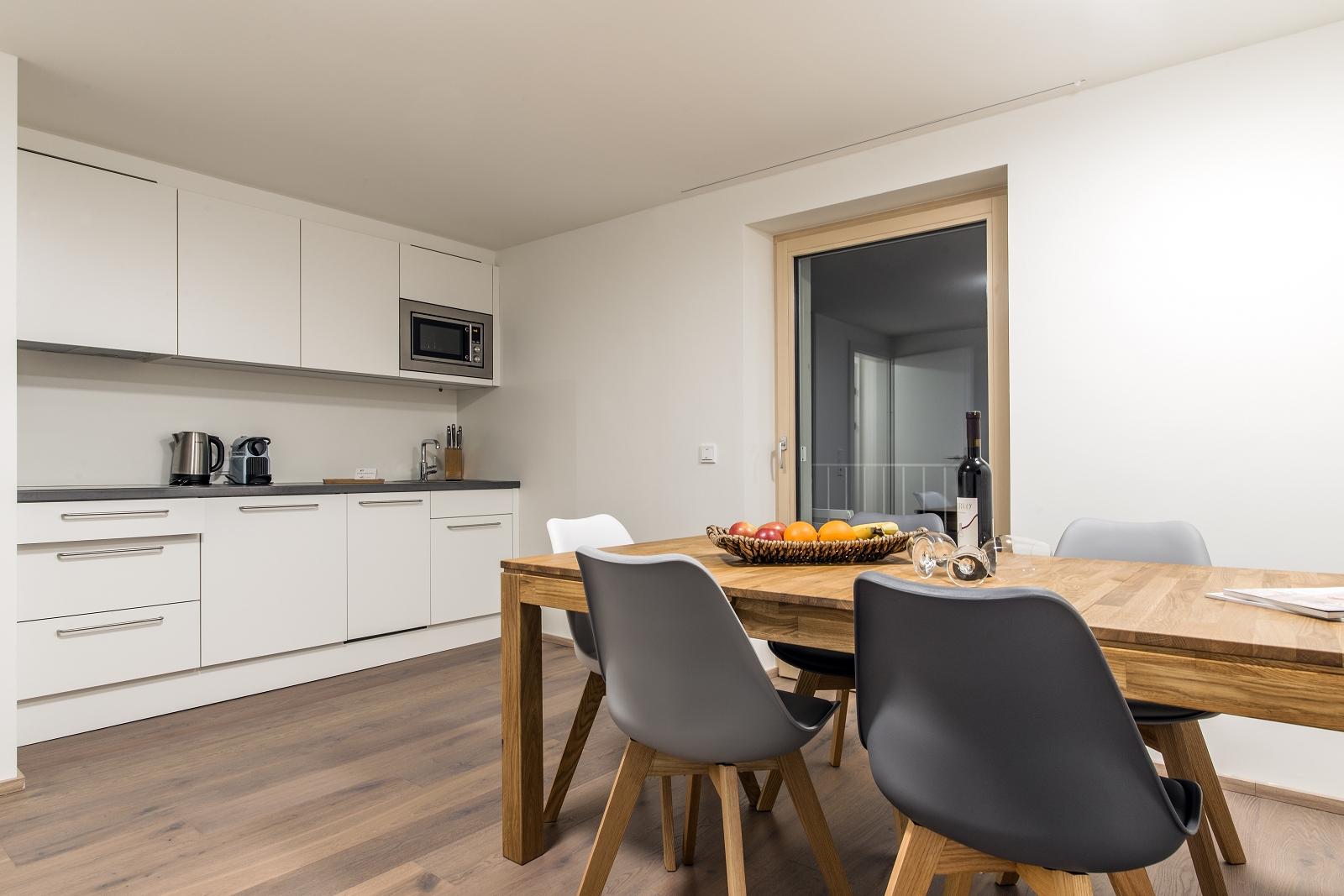 Villa Blau Apartement 1 Küche