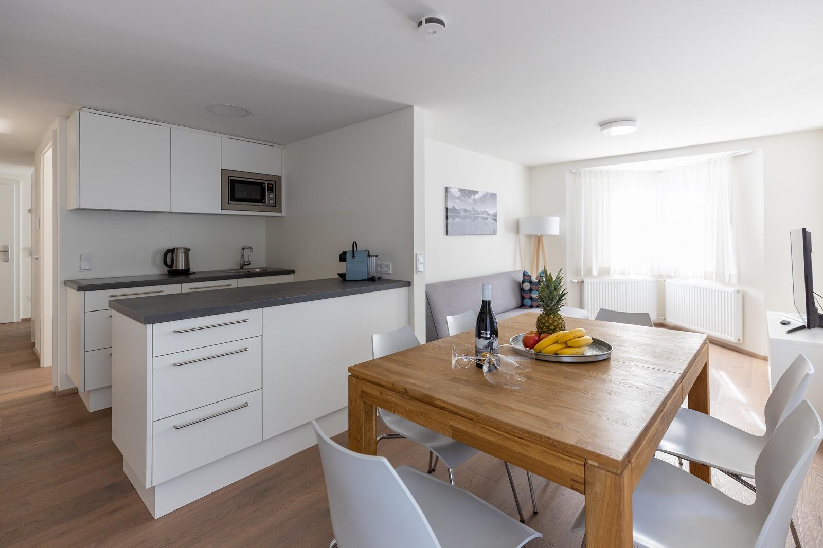 Villa Blau Apartement 2 Küche