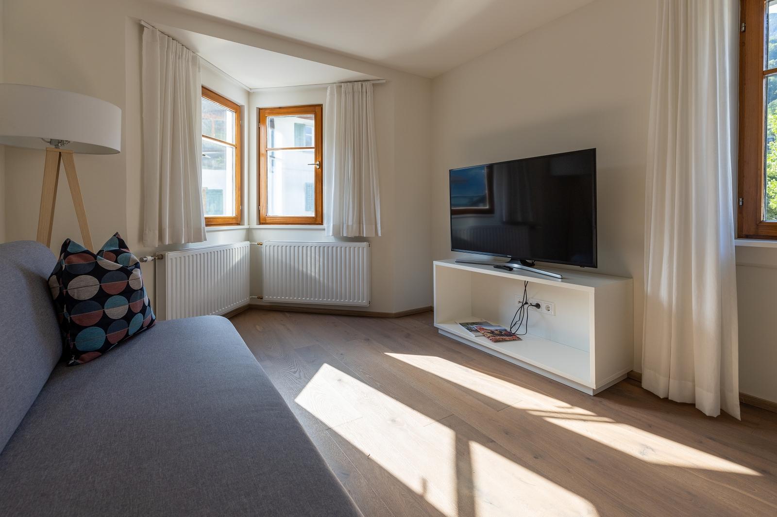 Villa Blau Apartement 2 Wohnzimmer