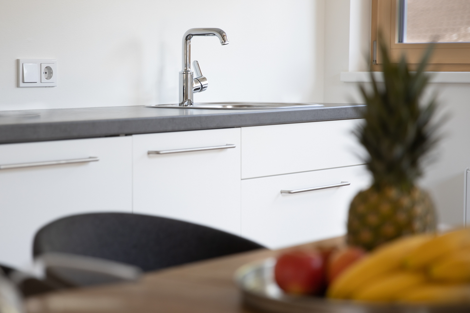 Villa Blau Apartement 5 Küche
